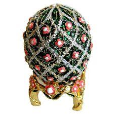 Oeuf de Fabergé Chemin de Roses (copie) - Boite à secrets ou bijoux Oeuf Fabergé