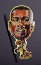 Gary Payton Vintage Seattle Supersonics Enamel Button Lapel Pin Pinback