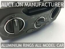Toyota Celica 99-06 Aluminium Polished Chrome Air Con Control Surrounds Rings