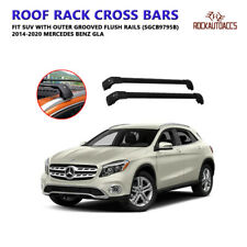 Universal Roof Rack Crossbars Fit 2014 - 2020 Mercedes Benz GLA Flush Roof Rails