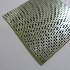 3x Stripboard 8x8cm Prototype paper FR4 uncut hole circuit Board Breadboard vero