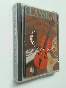 CLASSICAL - THE MINIDISC SPECIAL COLLECTION MD. VIVALDI, BACH, PUCCINI, ... 1994