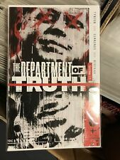 Department Of Truth #1 Cover A 1st Print  Hot Book