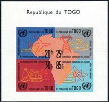 Togo 1961 Mi:TG BL6** Kommission der UNO / UN economical commission