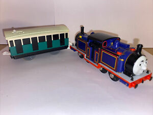 Thomas Trackmaster Tomy Mighty Mac train with Original Battery Carriage See Desc
