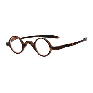 TR90 Vintage Small Round Oval Reading Glasses Readers 1.0 1.5 2.0 2.5 3.0 3.5
