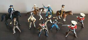 Schleich / Papo Wild West Cowboys & Horses Bundle