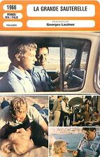 FICHE CINEMA FRANCE-RFA-ITALY LA GRANDE SAUTERELLE Réalisateur Georges Lautner