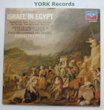 411 977-1 - Handel-Israel en Egipto Preston inglés co-ex Doble Disco Lp