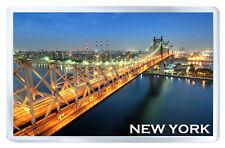 NEW YORK QUEENSBORO BRIDGE MOD2 FRIDGE MAGNET SOUVENIR IMAN NEVERA