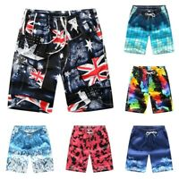 Men Short Pants Couple Summer Beach Casual Shorts Athletic Gym Sports Swimwear