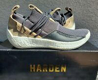 Adidas Harden LS 2 Lace Gray Core Black Basketball Shoe, James Harden, sz 10