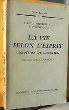 Potterie, La vie selon l' Esprit  1965 -