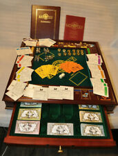 Very Nice Franklin Mint Monopoly Complete w/ Accessories, Very Minimal Use