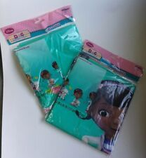 Set of 2 Doc Mcstuffins & Lambie Birthday Party Plastic Table Cover Cloth Decor