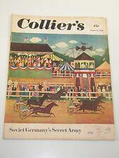 Collier's Magazine- Soviet Germany's Secret Army- August 12, 1950