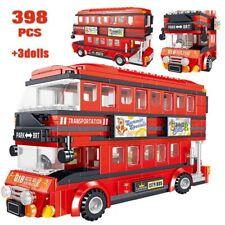 398pcs London Double Decker Bus Building Blocks Creator Technic City Legoing