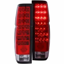 FOR 1986-1997 NISSAN HARDBODY LED TAIL LIGHTS RED CLEAR PAIR LH+RH