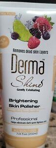 Derma Shine Skin POLISHER Dead Skin Removal Skin Lightening Brightening Polish