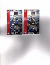 New York Giants 2005 New York POST Pin Complete Set 10