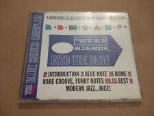 VARIOUS ARTISTS * INTO THE BLUE * BLUE SERIES SAMPLER CD JAZZ 1997
