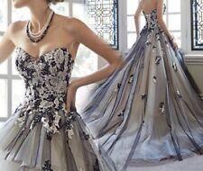 Handmade Organza Empire Wedding Dresses