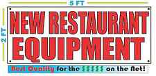 NEW RESTAURANT EQUIPMENT Banner Sign NEW Larger Size Best Quality for The $$$
