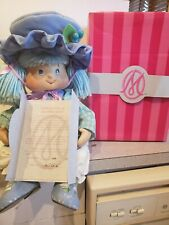Marie Osmond Porcelain Blueberry Muffin Toddler size Doll #0024 of #2500