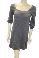 M&S Dress / Top Ladies Size 8 Silver Sparkle Tunic Jumper Dress