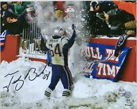 Autographed Tedy Bruschi Patriots 8x10 Photo Fanatics Authentic COA