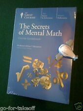 Secrets of Mental Math DVD - Teaching Company / Great Courses - New Sealed