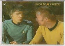 Star Trek 40th Anniversary M1 In Motion Lenticular Chase Card Captain Kirk Spock