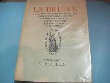 Alphonse de CHATEAUBRIANT: la Brière. chez Jean Variot /Bois gravés LE BRETON