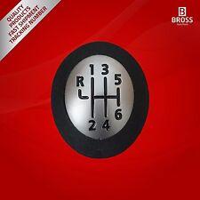 6 velocidades Palanca de cambios 328650024R Negro Para Renault Megane 3  2008-16