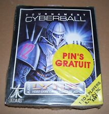 Atari Lynx game handheld console Tournament Cyberball NEW BOX sealed PIN GRATUIT