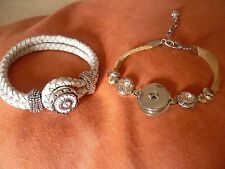 lot de 2 bracelets + 1 clips