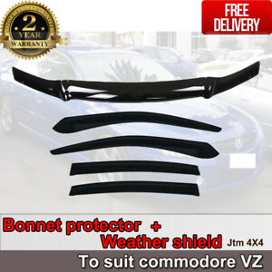 Bonnet Protector + Weather Shields to suit Holden Commodore VZ 2004-2007