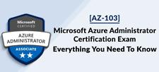 Microsoft Azure Administrator AZ-103 Premium Exam PDF, VCE and Exam Simulator!