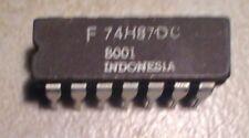 Fairchild F74H87DC 74H87 4 Bit True/Complement, Zero/One Elements - NOS