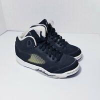 Boy's Nike Air Jordan V Retro 5's Oreo Black/White Sneaker (1Y) 440889-035