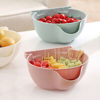 1PC Creative Shape Lazy Snack Bowl For Layers Seeds Nuts Fruits Storage BYT TEUS