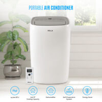 DELLA 14,000 BTU Portable Air Conditioner Dehumidifier AC Remote Window Kit