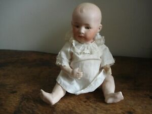 Antique bisque baby doll by Gebruder Heubach