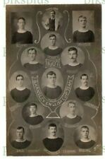 More details for old postcard barnsley football club enlish cup team 1907 irving real photo