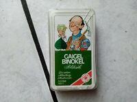 Gaiegel Binokel politisch-   Quartettspiel /Kartenspiel ASS 1403/1  (2x 24 Blatt