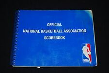 2006-07 NBA Official Scorebook w/ (2) Lebron James Games-Scored-One of a kind!