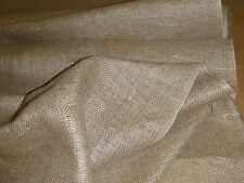 "BURLAP HESSIAN 40"" 10 OZ 5 METERS UPHOLSTERY SUPPLIES"