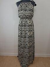 Neues Only Damen Kleid Gr.34 Tapestry Flower Cloud Dancer Schwarz/Weiß Blumen