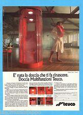 QUATTROR992-PUBBLICITA'/ADVERTISING-1992- TEUCO - DOCCIA MULTIFUNZIONI