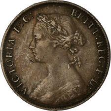 [#756912] Coin, Great Britain, Victoria, 1/2 Penny, 1874, VF(30-35), Bronze